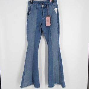 Hydraulic Murray Short High Rise Flare Jeans 4